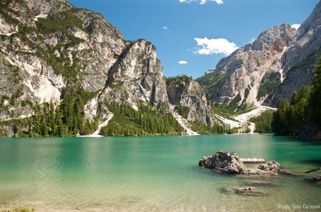 Lago Di Braies - Riva