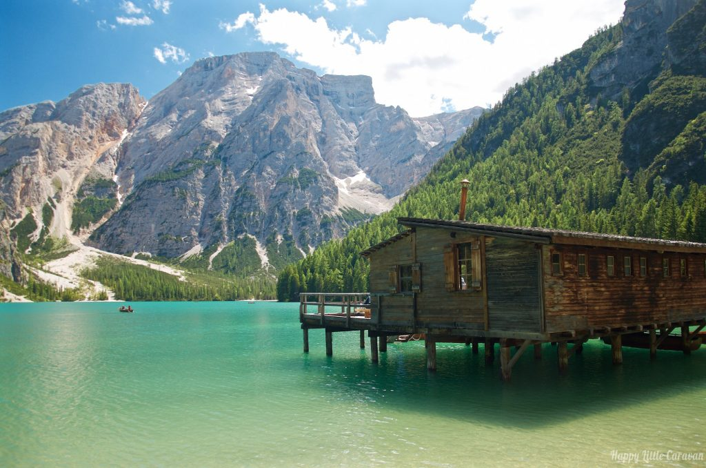 Lago Di Braies - Palafitta affitto Canoe