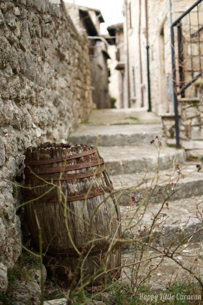 Castel Trosino - Particolare