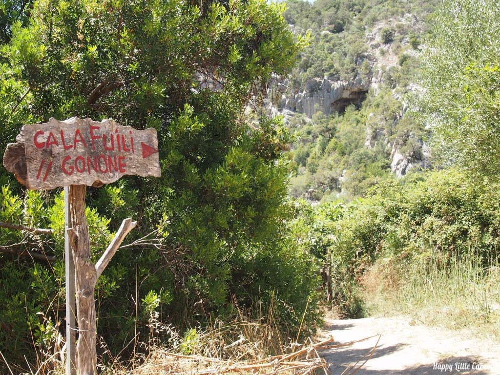 Cala Luna - Sentiero