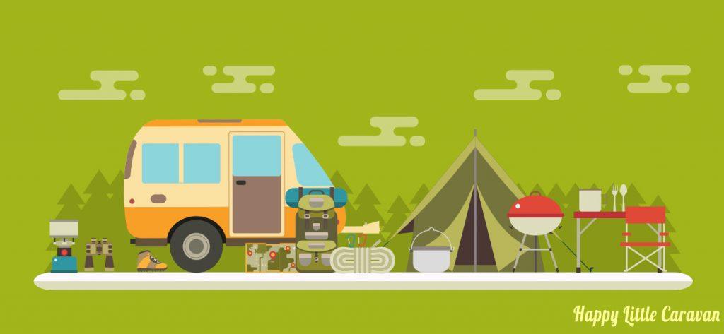 oggetti campeggio