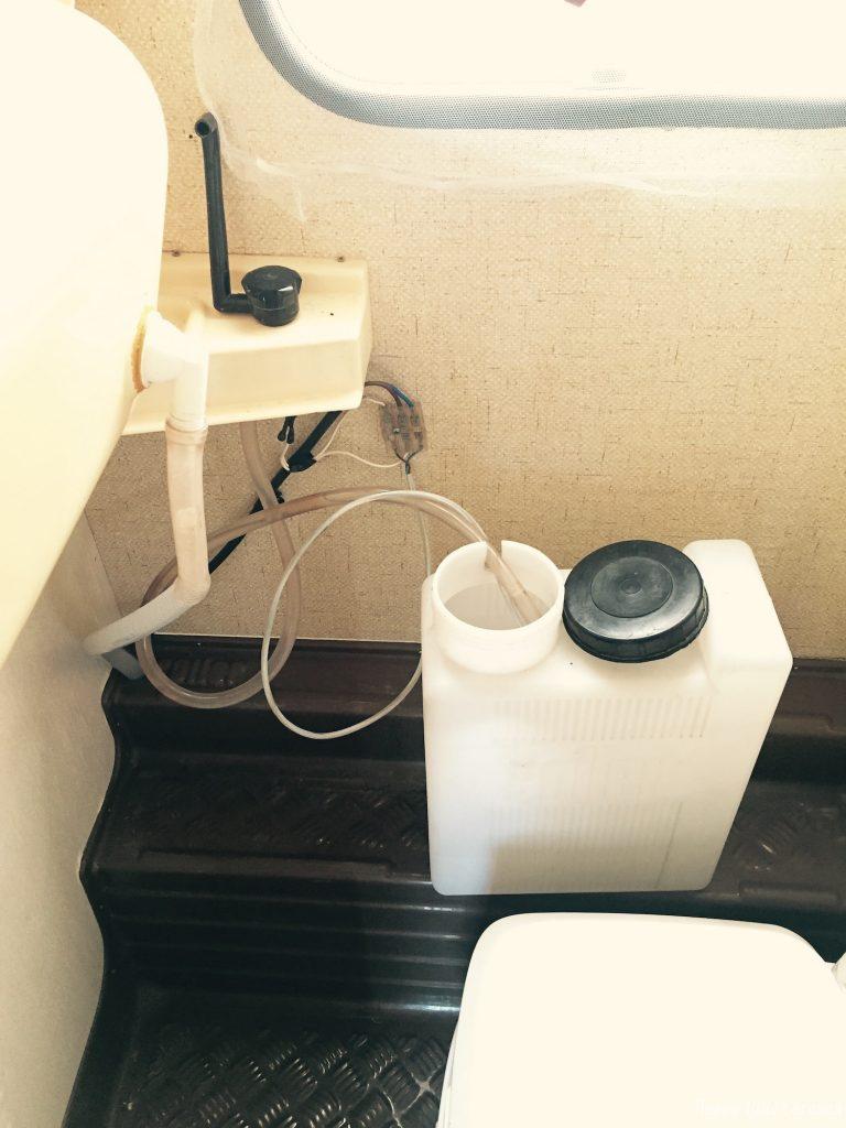 tanica bagno roulotte