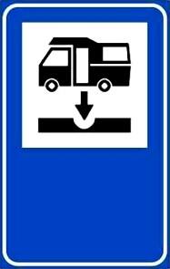 Area scarico autorizzata