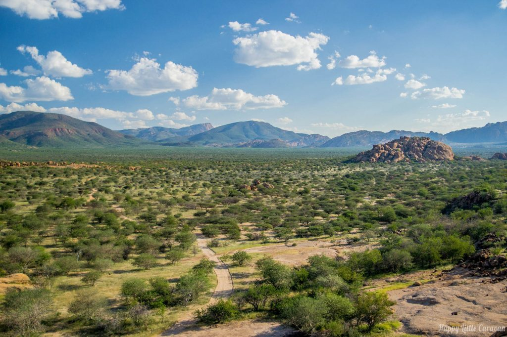 Altopiano - Erongo Mountains
