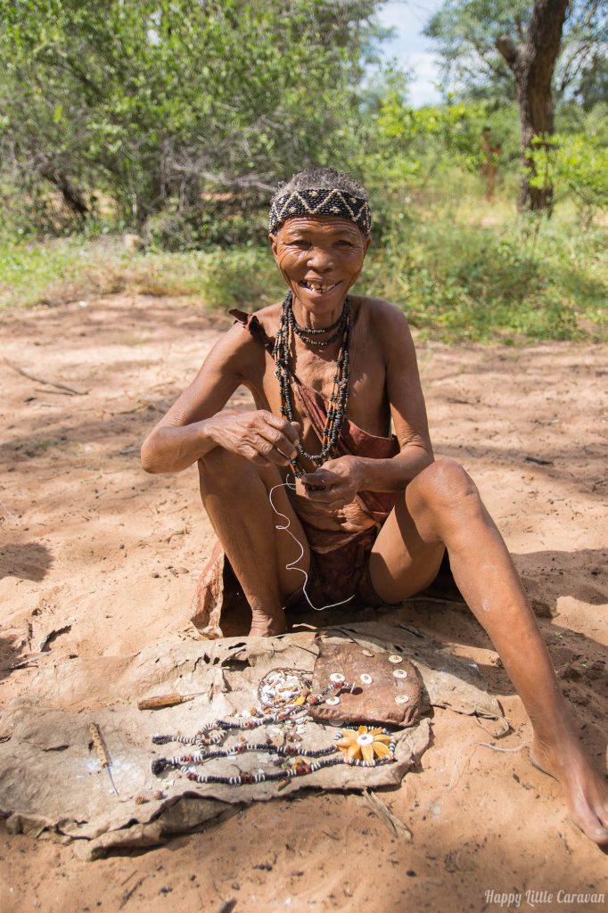 bushmen lady