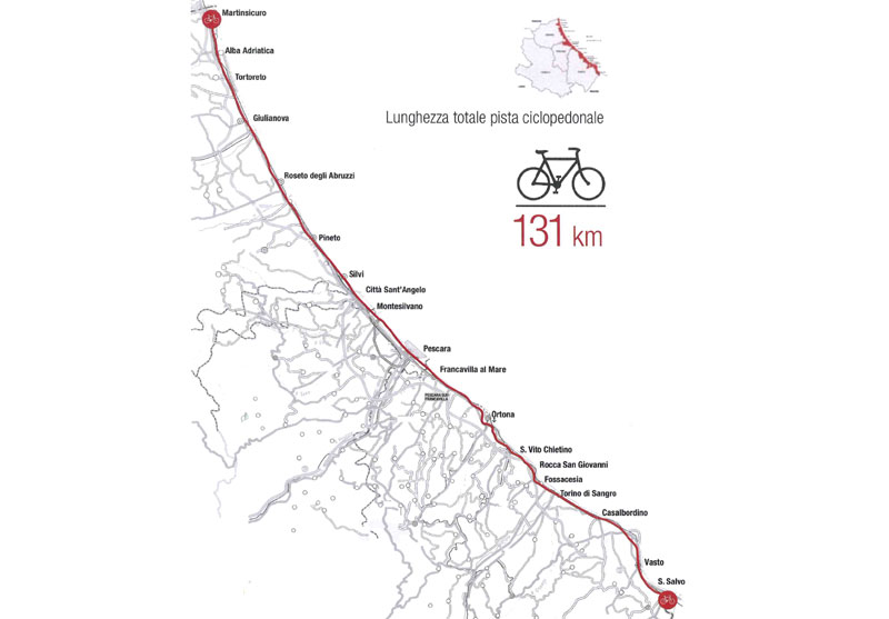 Bike to coast - abruzzo