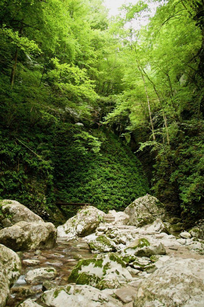 Sentiero per Slap Kozjak