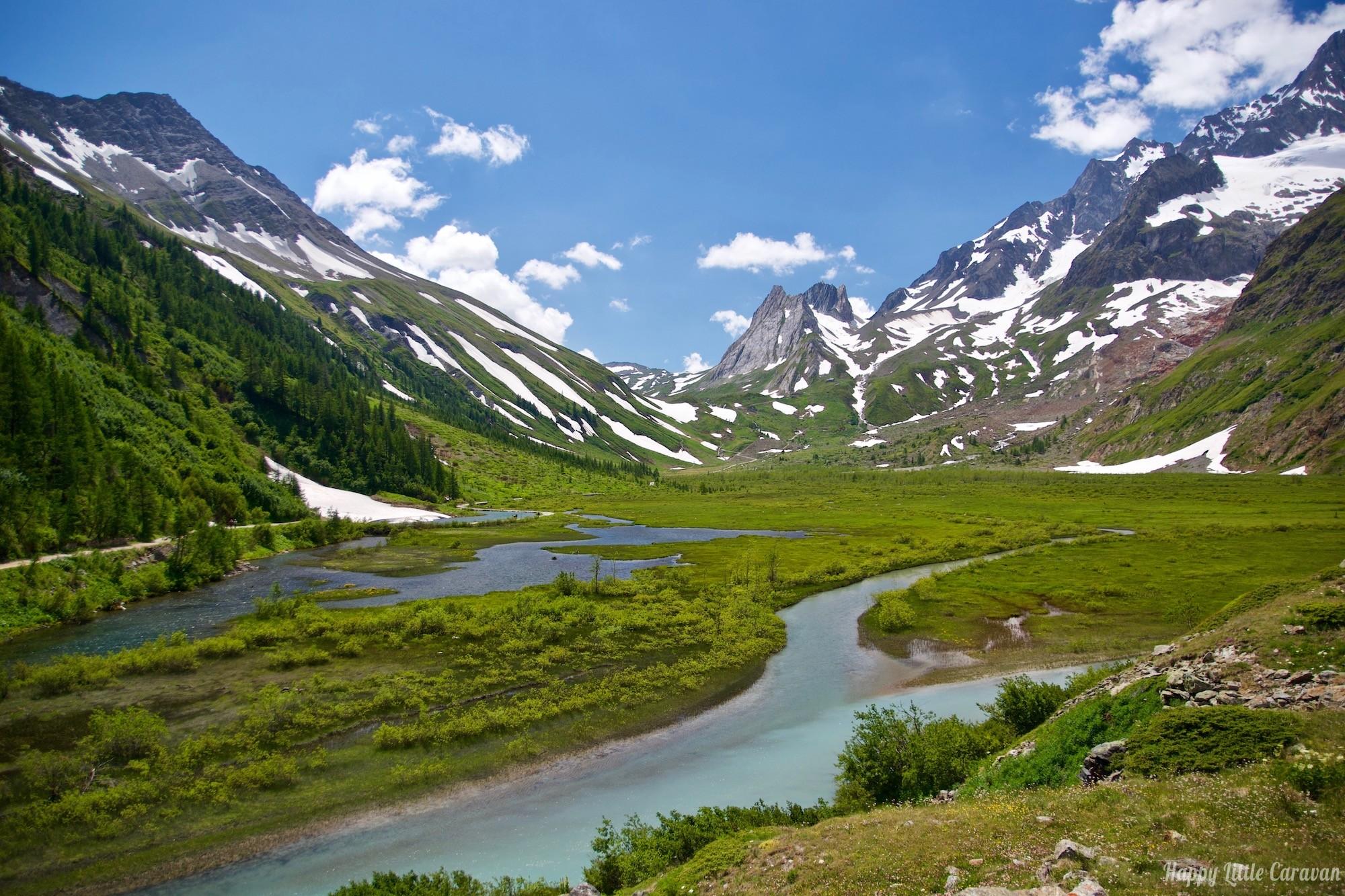 Valle d'Aosta - Laghi Combal e Miage